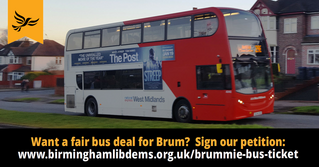 Brummie Bus Ticket campaign