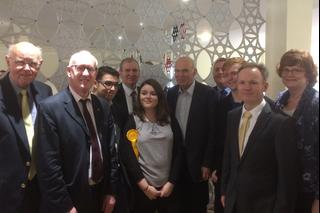 Vince Cable meets Birmingham Liberal Democrats at Regional Conference November 2017