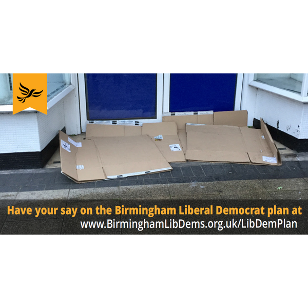 Liberal Democrats will tackle homelessness
