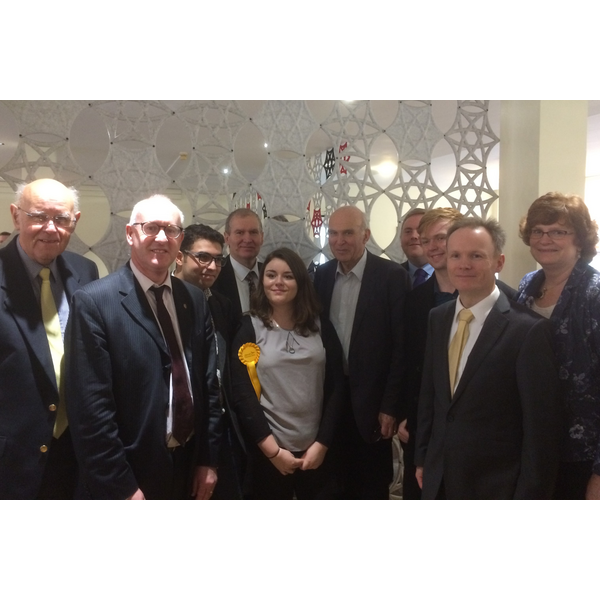 Vince Cable meets Birmingham Liberal Democrats at Regional Conference November 2017